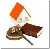 8193768-house-and-law-object-isolated-over-white